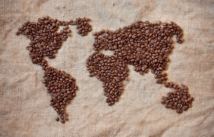 Top coffee locations of the world